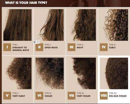 Les diff rents types de cheveux the universal beauties - Type de coiffure ...