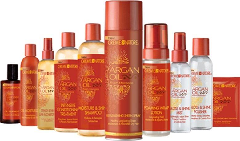 Produits De 171 Creme Of Nature Argan Oil 187 The Universal